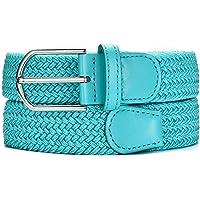MASADA Cintura in tessuto - cintura elastica stretch per uomo e donna larga 3,2 cm lunga 90 - 120 cm
