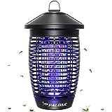 PALONE Lampe Anti Moustique 4500V 20W UV Tueur d'Insectes Électrique Anti Insectes Répulsif Efficace Portée 100m² pour Intéri