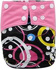 Happy Cherry Waschbar Stoffwindel Babywindeln Lecksicher Windelhose Verstellbare Cartoon Tuch Windel
