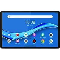 "Lenovo M10 Plus Tablet, Display 10.3"" Full HD, Processore MediaTek Helio P22T, Storage 64 GB Espandibile fino a 256 GB, RAM 4 GB, WiFi+BT5.0, 2 Speaker, Android Pie, Iron Grey"