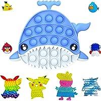 Fidget Toy Jouets Sensoriels Stress Relief Jouets Anti-Stress Push Pop Bubble Toy Jouets Anti-Stress pour Enfants et…