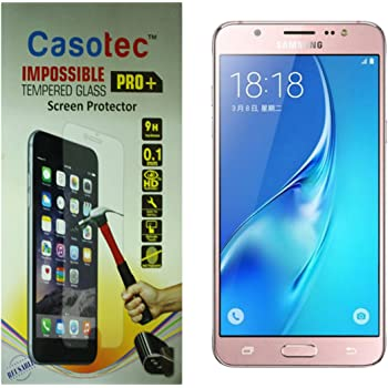Casotec Impossible Tempered Glass Screen Protector for Samsung Galaxy J5 (2016)