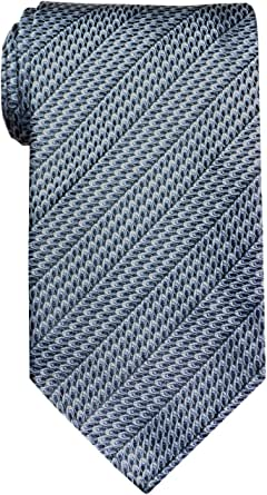 Remo Sartori - Cravatta Lunga Extralunga XL in Seta Blu, Lunghezza da 155 cm a 175 cm, Made In Italy, Uomo