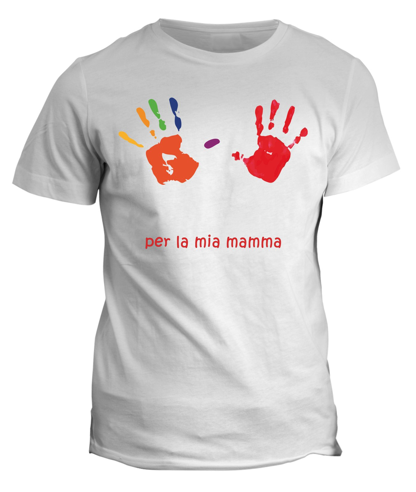 Tshirt per la mia mamma - festa della mamma - in cotone by Fashwork
