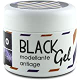 Pop Italy Black Gel - Gel fissativo nero ad effetto coprente - 100 ml