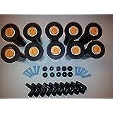 10x Rainbird 1804-SAM verzonken sproeier met 15 VAN sproeier, SBE-050 aansluitstuk set 15