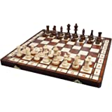 Albatros Holz-Schachspiel Castilla 42 x 42 cm