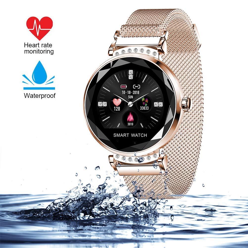 wetwgvsa Fitness Tracker Reloj Pulsera presión Sanguigna pulsómetro de muñeca Actividad Tracker Smartwatch H2 Monitor… 1