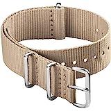 Archer Watch Straps - Cinturini NATO in Nylon, Scelta di Colori e Dimensioni (18mm, 20mm, 22mm, 24mm)