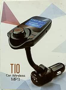Fm T10 Bluetooth Wireless Transmitter Auto Kit Mp3 Player 3 5 Mm Kfz Fm Transmitter Für Alle Smartphone Elektronik