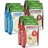 Shirataki Konjak Italia Pakiet próbny: 2 x Spaghetti Style 250 g, 2 x fettuccine -Style 250 g, 2 x lasagne 250 g - Bio