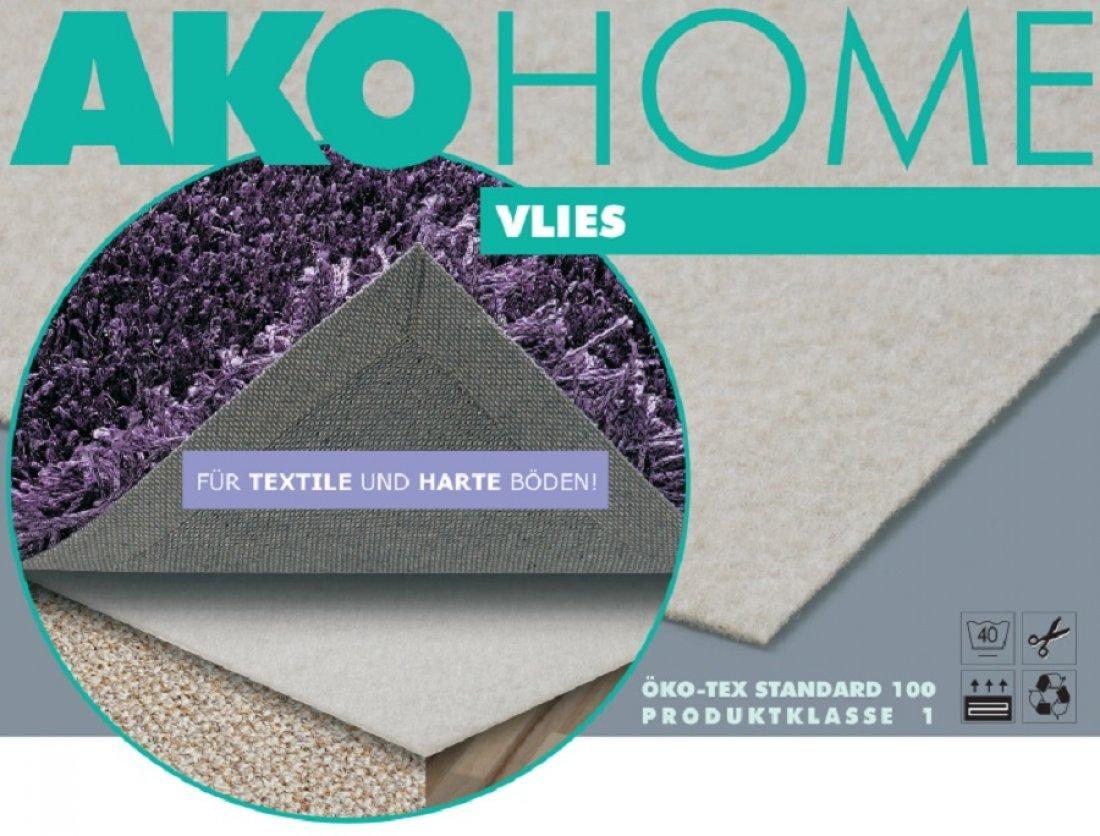 Teppichunterlage  Ako Teppichunterlage VLIES für textile und glatte Böden, Größe ...