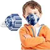 YpingLonk 20/25/50/100PC Unisex Niños Protector Bufanda -Moda Universal 5 Capa Elástico Earloop Neckerchief Chal Bandanas-211