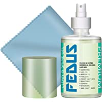 FEDUS Screen Cleaner Fluid Gel Multi-Purpose LCD Cleaning Kit, Liquid Solution with Cloth to Clean Mobile/Laptop Screen…