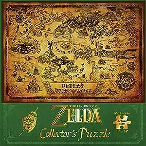 Together + - JDPNIN014 - Zelda - Puzzle - The Legend Of Zelda Hyrule Map