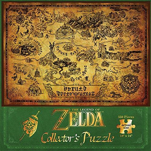 Preisvergleich Produktbild The Legend Of Zelda Hyrule Map (Puzzle) Puzzle Standard