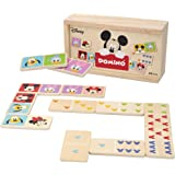 Disney - Domino madera infantil Juego de mesa para niños 2 3 4 años - Juegos de memoria Juegos Juguetes educativos Niños 2 añ