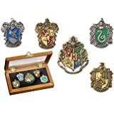 Pin de la casa de Hogwarts: Cinco Pines en la Vitrina. Colección Harry Potter Noble