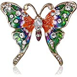 YUEMING Broche de Mariposa ,Broche, Broche Retro Mariposa,Broche y Pin Broches para Ropa Mujer
