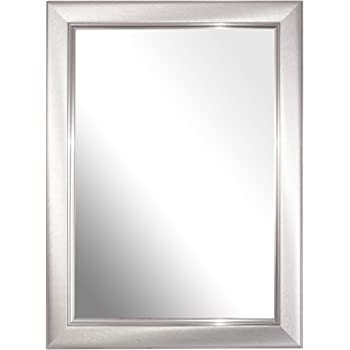 Inov8 Spiegel Rahmen Geburstet Klein Silber A4 Zertifikat Single
