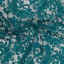 Cable de tela de encaje para vestidos de novia Material ropa 150 cm bodas damas de