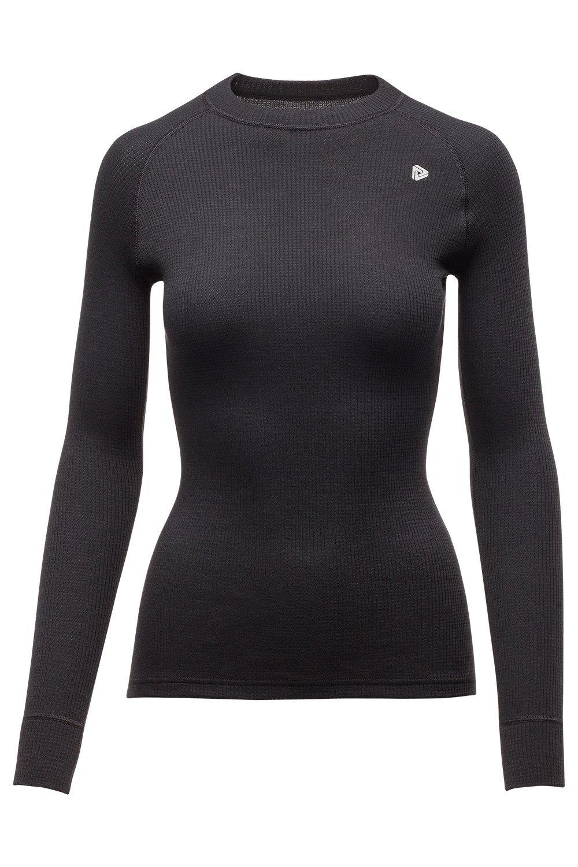 Thermowave, pantaloni Originals camicia a maniche lunghe, donna, Originals, Black, XXL