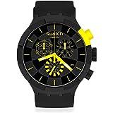 Montre Swatch Big Bold Chrono SB02B403 Checkpoint Yellow