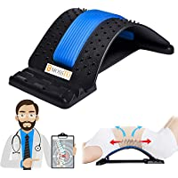 Mossto Magic Back Braces Stretching Device for Bed, Chair & Car, Multi-Level Lumbar Support Stretcher for Lower and…