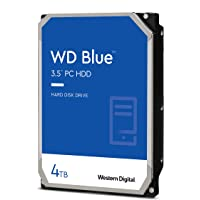 "Western Digital Blue 4 TB Festplatte, SATA 6 Gb/s, 3,5"", WD Blue, WD40EZAZ"