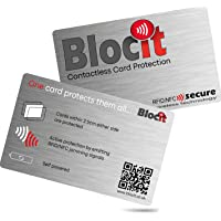RFID/NFC Signal Blocking Card. One Card Protects All. Latest Generation Signal Blocking Card. One Card for Total…