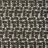 Fabulous Fabrics Spitze & Folie – Gold — Meterware ab 0,5m — zum Nähen von Abend- und Partymode, Tuniken und Tops und Shirts