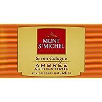 Mont St Michel - Savon Cologne Solide - Ambrée Authentique - 125 g
