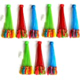Myric Water Balloons Bunch Quick Fill for Splash Fun Kids and Adults Holi Party Pool with in 2 Minutes (Pack of 9)