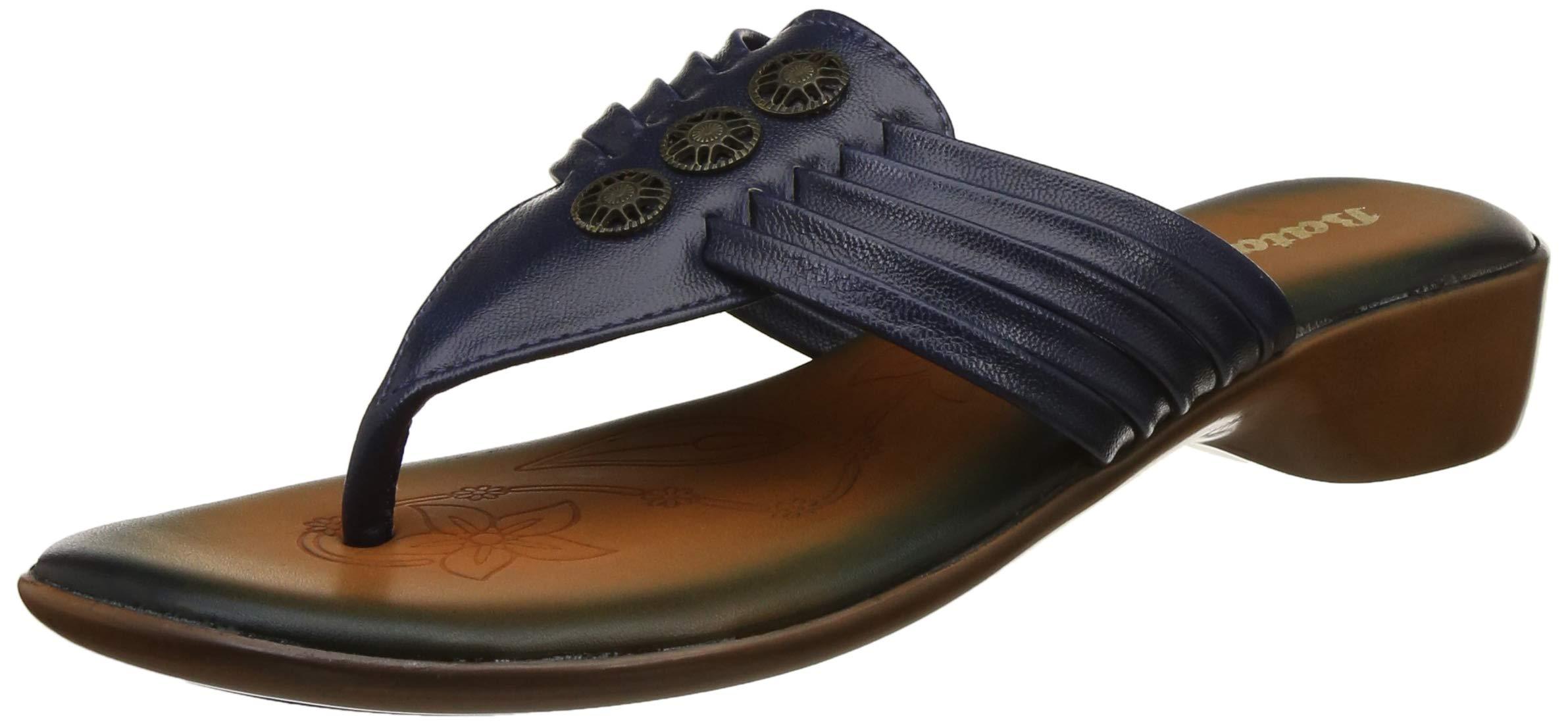 BATA Women's Buttons Slippers