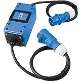 as - Schwabe – MIXO Elektriciteitsmeter 230 V – MID-conforme Tussenmeter met Terugloopblokkering – Tussenstekkerbox met 3-pol