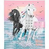 Depesche Diario con código y sonido, Miss Melody, rosa, aprox. 18 x 15 x 3,5 cm, con páginas rayadas para pensamientos y sent
