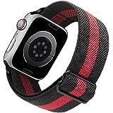 Migeec Cinturino compatibile con i Watch 38mm 40mm 42mm 44mm, Cinturino di ricambio Sportivo in Nylon Elasticizzato per i Wat