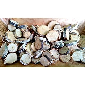 250 G Birkenscheiben Rund 2 6 Cm Holzscheiben Birkenstamm Birken