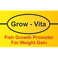FeedWale Grow Vita Fish Growth Promoter for Faster Weight Gain for Aquaculture Fishes