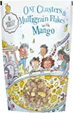 Monsoon Harvest Oats Clusters and Multigrain Flakes with Mango, 350g