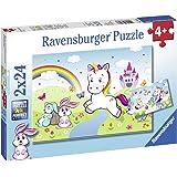 Ravensburger Kinderpuzzle 07828 Märchenhaftes Einhorn, Multicolor