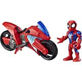 Super Hero Adventures Mega Mini Motorcycle Spiderman (Hasbro E7929ES0)