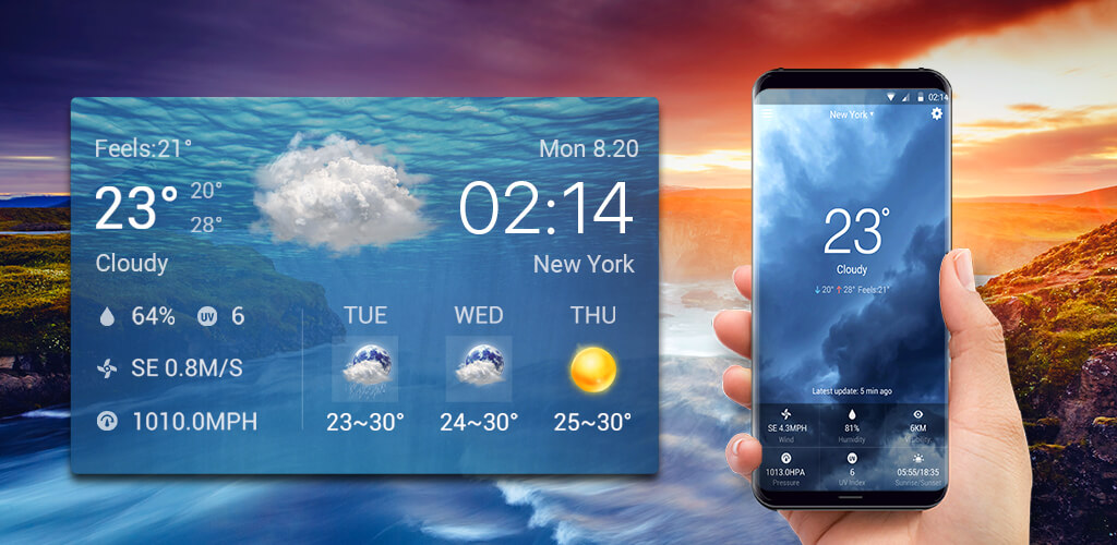 Local Weather Widget & Forecast: Amazon.co.uk: Appstore