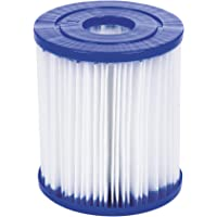 Bestway Size I Filter Cartridge for Pools, Blue/white, 3.1 x 3.5 Inch, Twin Pack