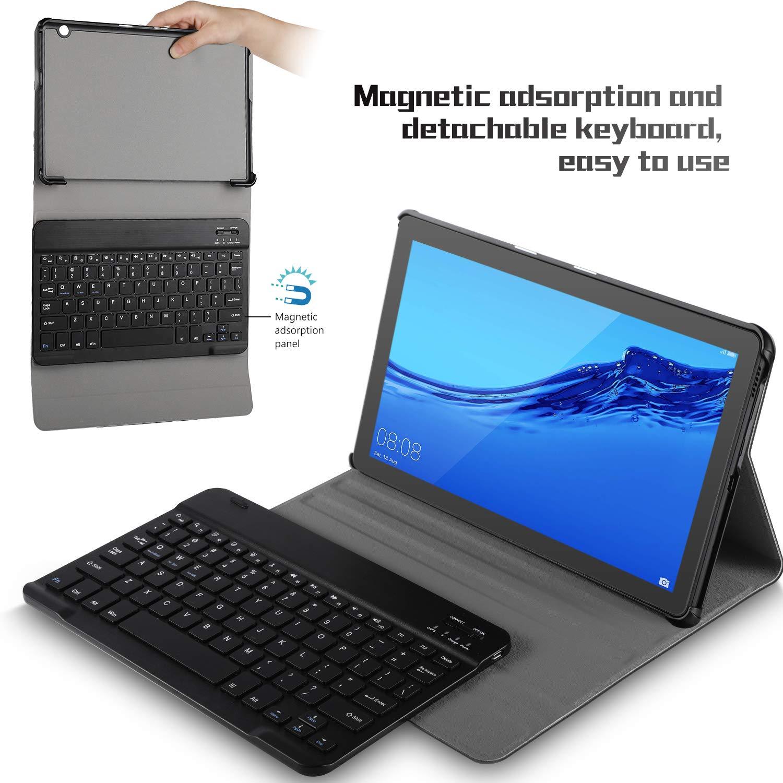 economico per lo sconto 29ac3 dd851 IVSO Tastiera Custodia Portfolio per Huawei Mediapad T5 10 ...