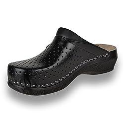 Leon PU100 Zuecos Zapatos...