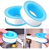 Wellinterest PTFE Draad Seal Tape voor Loodgieters, Wit 3/4 Inch x 300 Inch (2 stuks)