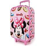 Karactermania Minnie Mouse Yummy - Maleta Trolley Soft 3D, Rosa