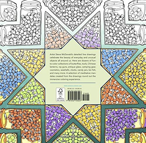 Fantastic Collections A Coloring Book Of Amazing Things Real And Imagined Cities Colouring Books
