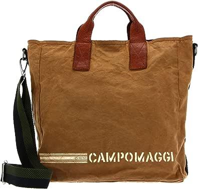 Campomaggi Shopping Bag Beige + T/Cognac + St.Bianca